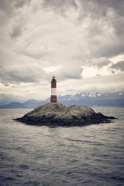 Les Eclaireurs lighthouse, Tierra del Fuego, Argentina, South America by Fernando Carniel Machado