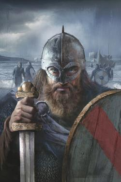 A Scandinavian Warrior Chief from the Late 10th Century Ready For Battle by Fernando G. Baptista