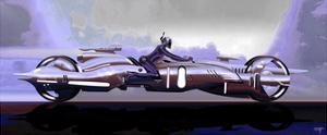 Megafuture Atomic Three LI Megacyke XXIII by Fernando Palma