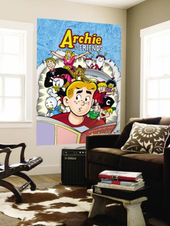 Archie Comics Cover: Archie & Friends No.137 A Night At The Comic Shop
