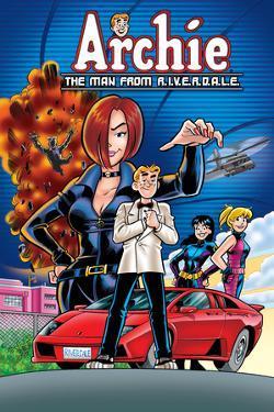 Archie Comics Cover: Archie No.610 The Man From R.I.V.E.R.D.A.L.E. Part 1 by Fernando Ruiz