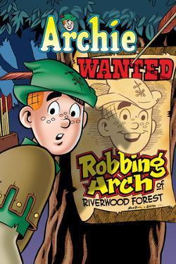 Archie Comics Cover: Archie No.618 Robbing Arch by Fernando Ruiz