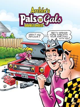 Archie Comics Cover: Archie's Pals 'N' Gals Double Digest No.142 by Fernando Ruiz