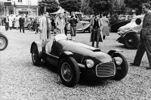 Ferrari 166 at Spa, Belgium, 1949