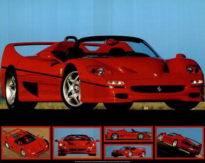 Ferrari F-50 (Photos) Sport Poster