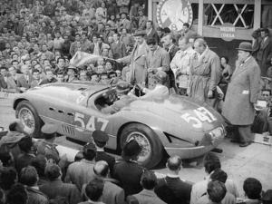 Ferrari of Giannino Marzotto, Mille Miglia, Italy, 1953