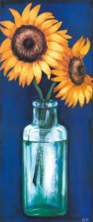 Bottled Flowers II by Ferrer