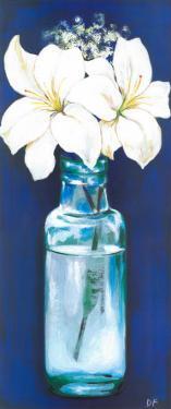 Bottled Flowers IV by Ferrer