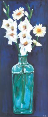 Bottled Flowers V by Ferrer