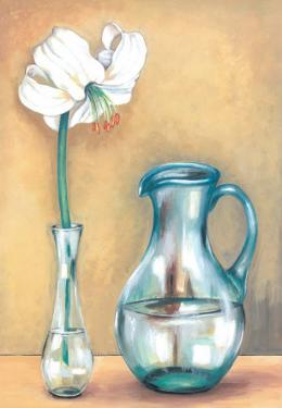 Flower And Vase I by Ferrer