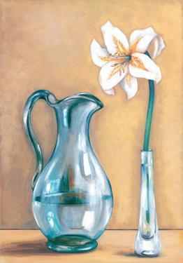 Flower And Vase II by Ferrer