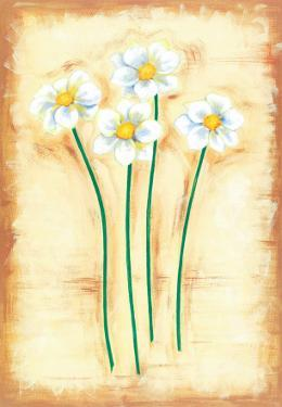Flowers In Movement I by Ferrer