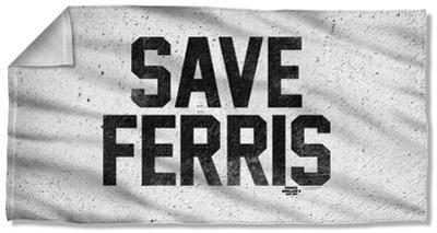 Ferris Buelle - Save Ferris Beach Towel