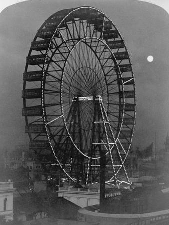 Ferris Wheel at Chicago Exposition