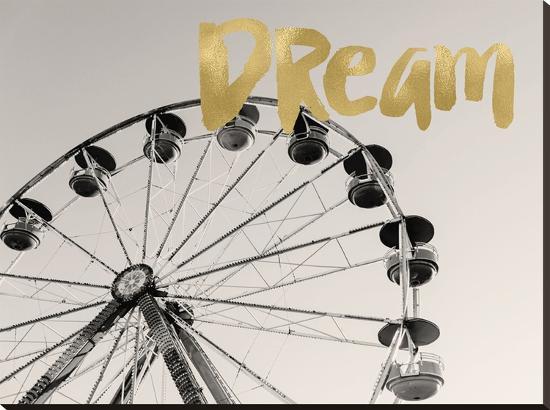 Ferris Wheel Dream-Amy Brinkman-Stretched Canvas Print