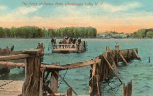 Ferry at Bemus Point, Chautauqua, New York