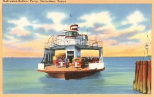 Ferry Boat, Galveston, Texas
