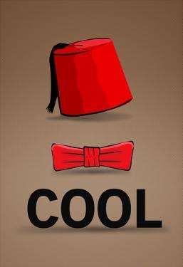 Fez and Bowtie Cool Poster