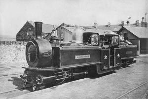 Ffestiniog Railway Steam Locomotive No 8 'James Spooner, 1872