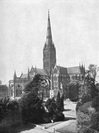 Salisbury Cathedral, 1911-1912 by FGO Stuart