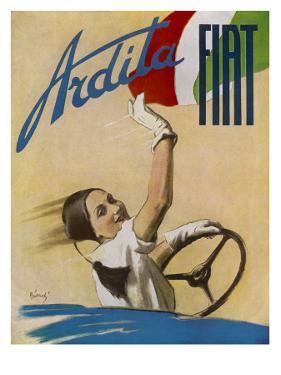 Fiat Ardita Advertisement 1932