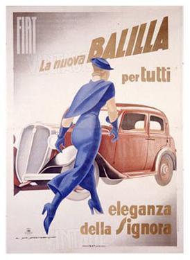 Fiat, la Nuove Balilla