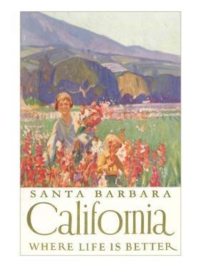Field of Flowers, Santa Barbara, Calfornia