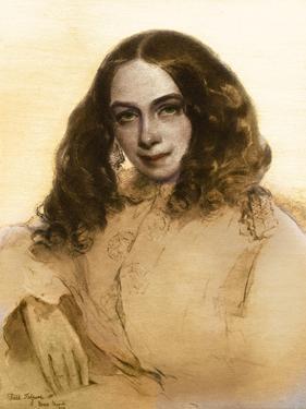 Elizabeth Barrett Browning by Field Talfourd