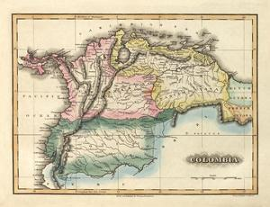 Colombia, c.1823 by Fielding Lucas