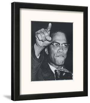 Fiery Speech, Harlem, 1963