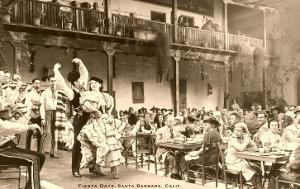 Fiesta Days, Spanish Dancers, Santa Barbara, California