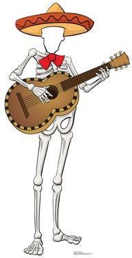 Fiesta Skeleton Stand In