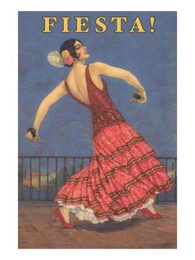 Fiesta! Vintage Flamenco Dancer