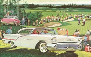 Fifties Cars on Golf Course