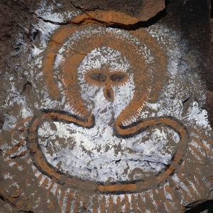 Figure of Spirit, Cave Painting, Kimberley, Western Australia, Australia, Aboriginal Culture