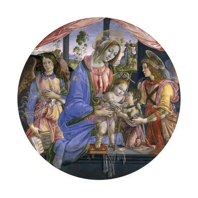 The Madonna and Child with the Infant St. John and Two Angels, Mid-1480s