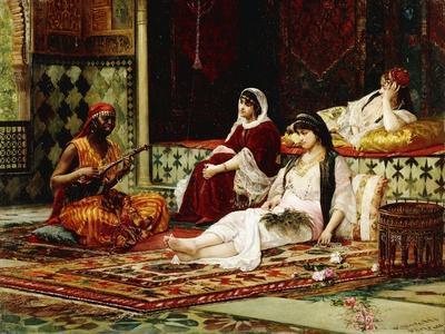 In the Harem, 1881