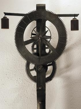 Clock with Weights Designed by Filippo Brunelleschi