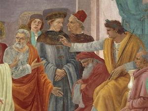 Saint Peter Confronts Simon Magus before Nero by Filippo Brunelleschi