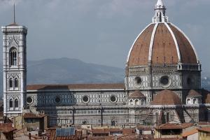The Cathedral and Giottos Tower in Florence from the Palazzo Vecchio by Filippo Brunelleschi