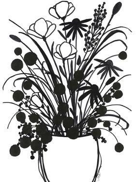 Black and White Bouquet 1 by Filippo Ioco