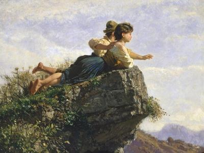 Contemplation, 1872