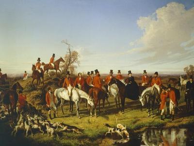 Fox Hunt, 1850