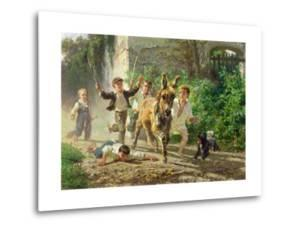 The Street Urchins, 1872 by Filippo Palizzi