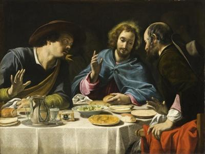 The Supper at Emmaus, c.1625 by Filippo Tarchiani
