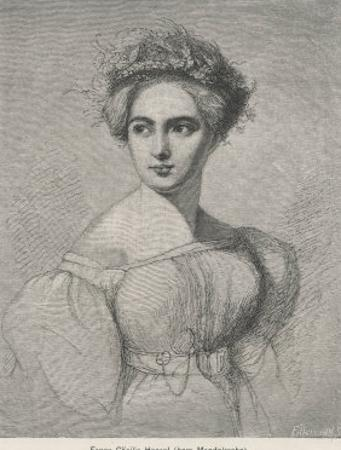Fanny Caecilie Mendelssohn Sister of Felix Mendelssohn and a Composer in Her Own Right