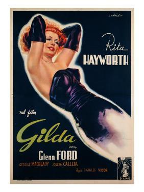 "Film Poster for ""Gilda"""