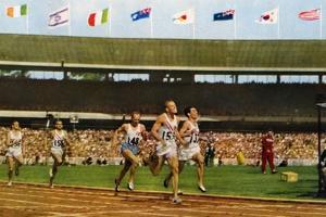 Final of the 800 Metres Race at the 1956 Melbourne Olympics