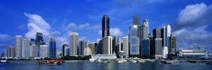 Financial District, Skyline, Singapore