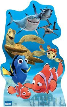 Finding Nemo Group - Disney / Pixar Movie Lifesize Standup